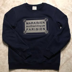 Les Maraisiens Pullover (sweatshirt from Paris)